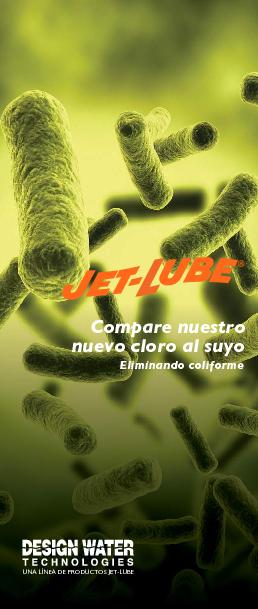 Compare nuestro nuevo cloro al suyo - Eliminando coliforme
