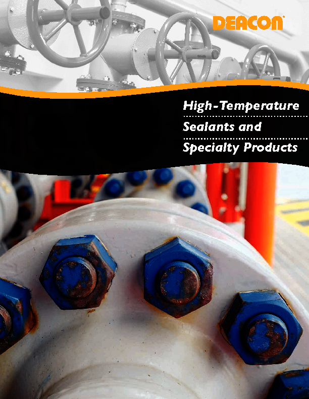 High-Temperature Sealants and Specialty Products