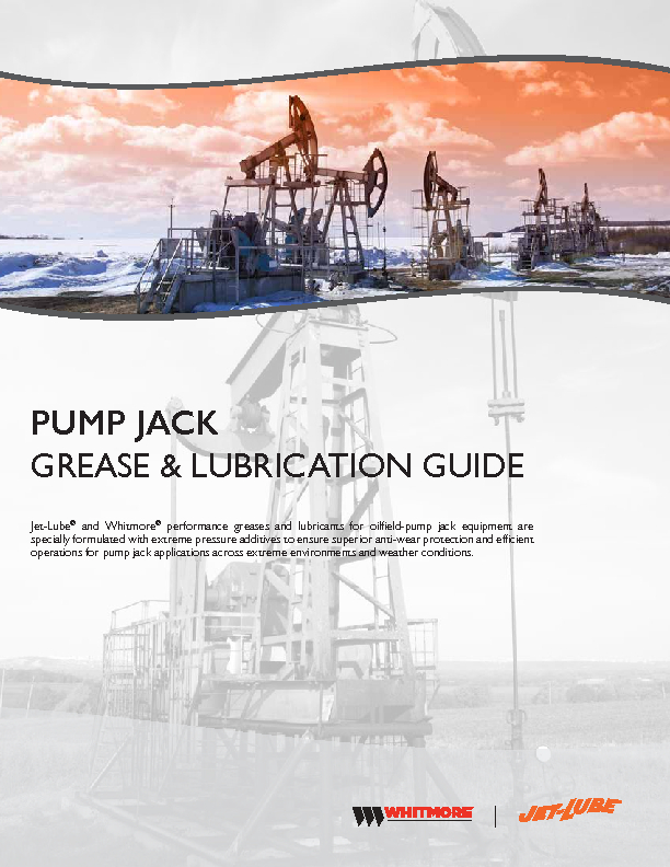 Pump Jack Grease & Lubrication Guide