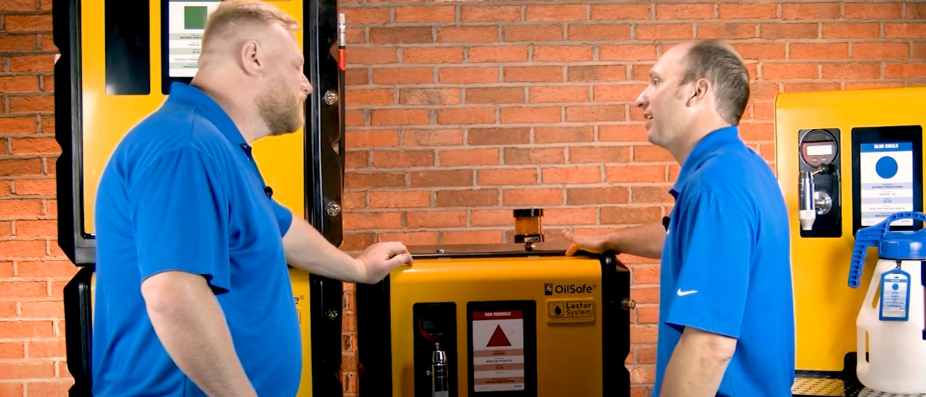 Noria Product Unboxing: Oil Safe® Lustor Lubrication Storage Systems