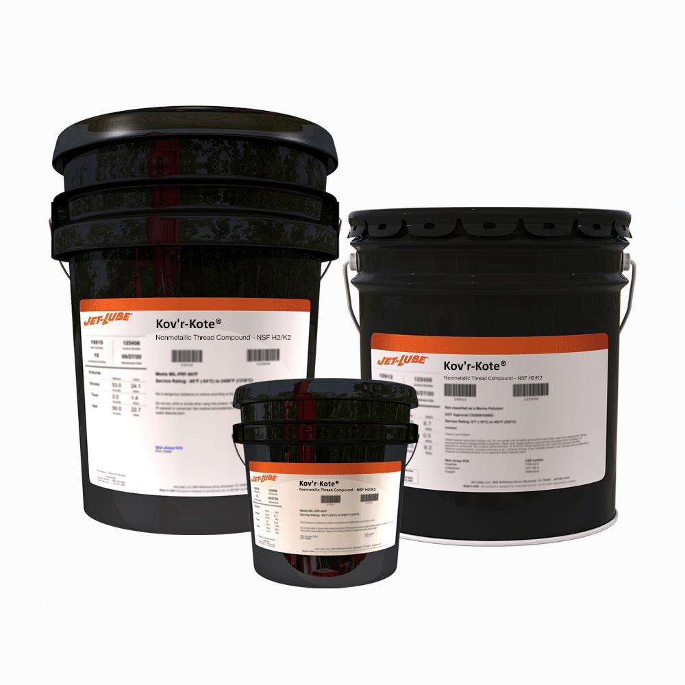Kov'r-Kote® Nonmetallic Thread Compound - NSF H2/K2 | Jet-Lube
