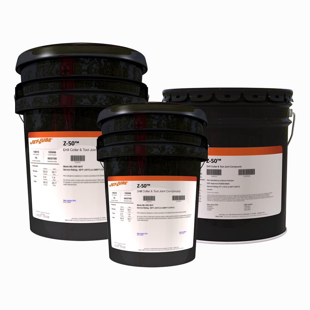 Z-50™ Drill Collar & Tool Joint Compound | Jet-Lube